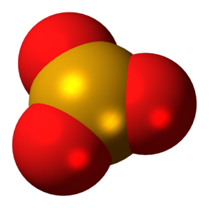 Selenium trioxide - Image: Selenium trioxide 3D spacefill