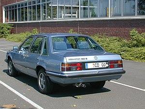 Opel Senator - Image: Senator A1CD1978290505(4wik)