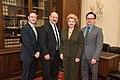 Senator Stabenow meets with representatives of the Michigan State University College of Human Medicine (32466675074).jpg