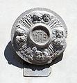 Seravezza, piazza carducci, lapide IHS.JPG