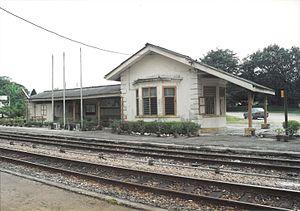 Serendah Komuter station - The old Serendah railway station.