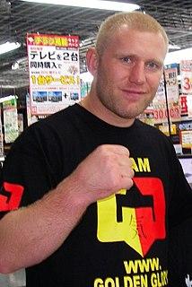 Sergei Kharitonov Russian MMA fighter
