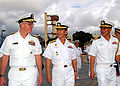 Seung Hak Chang and Jeffrey Cassias tour USS Key West.jpg