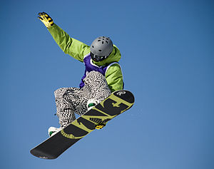 Snowboard figure at the Shakedown 2008