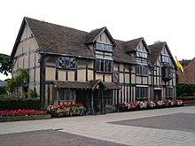 K Williams Stratford Upon Avon Geboortehuis van Shakespeare - Wikipedia