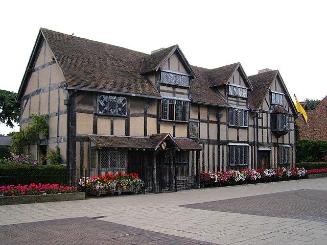 Lugar de nacimiento de William Shakespeare