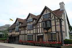 Shakespeare -birthplace -England