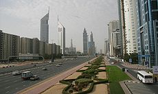 Sheikh Zayed Road on 2 March 2007.jpg