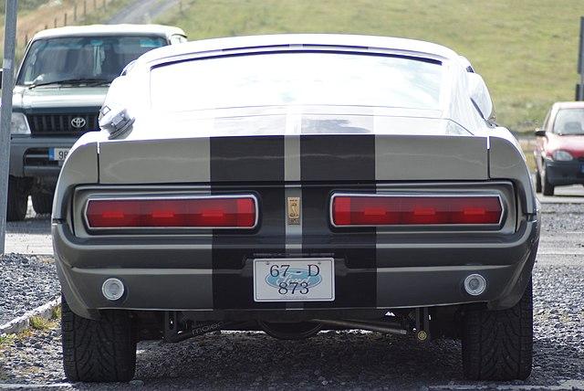Ford Mustang Shelby Gt500 Eleanor 1967 Dane Techniczne