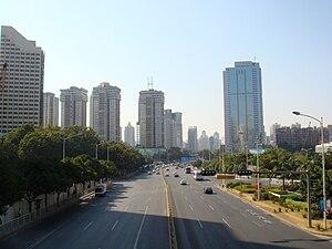 Shennan Road - Image: Shen Nan Rd. E&Mid West View