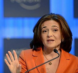 Sheryl Sandberg American social media executive, activist, and author