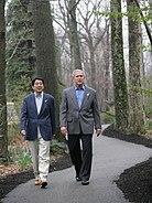Shinzo Abe & George W Bush, 2007Apr27