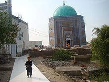 Shrine of Makhdoom Bilawal shaheed.JPG