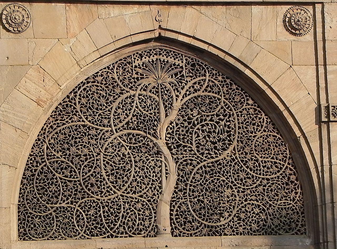 File Sidi Sayed Jali Mosque Ahmedabad Jpg Wikimedia