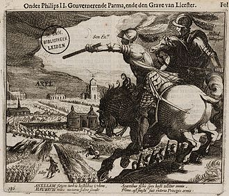 Capture of Axel - Siege of Axel 1586