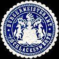 Siegelmarke Bürgermeisteramt Schlackenwerth W0317739.jpg