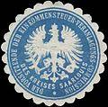 Siegelmarke Der Vorsitzende der Einkommensteuer-Veranlagungs-Commission des Kreises Saarlouis W0387029.jpg