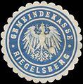 Siegelmarke Gemeindekasse Riegelsberg W0382845.jpg