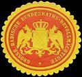 Siegelmarke Gr. Badische Bundesraths-Bevollmächtigte W0393814.jpg