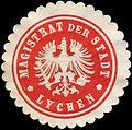 Siegelmarke Magistrat der Stadt - Lychen W0214891.jpg