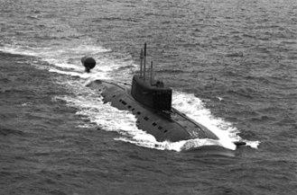 Sierra-class submarine - Image: Sierra class SSN