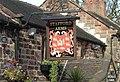 Sign at Stafford Arms pub, Bagnall - geograph.org.uk - 341556.jpg