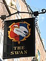 Sign for The Swan, Cosmo Place, WC1 - geograph.org.uk - 1304753.jpg