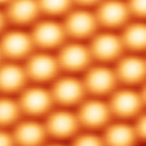 P–n junction - Image silicon atoms (Si) enlarged about 45,000,000x.