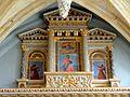 Silly-le-Long (60), église Saint-Pierre-et-Saint-Paul, bas-côté sud, retable de la Vierge, registre supérieur.jpg