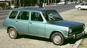 "Simca 1100 - Simca 1200 GLS ""Confort"" Break made by Chrysler España in Spain (estate)"