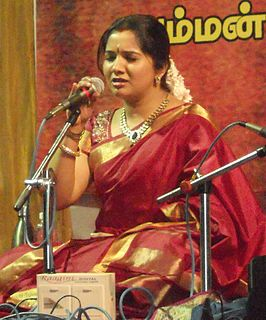 Mahathi Award-winning Indian playback singer