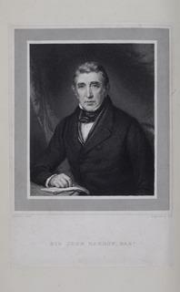 Sir John Barrow, 1st Baronet English statesman