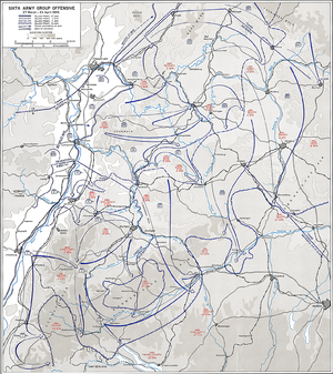 Battle of Heilbronn (1945) - Allied Sixth Army Group Offensive, March–April 1945