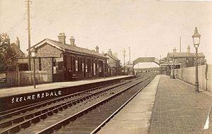 Skelmersdale railway station - Image: Skelmersdale railway station