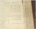 Sketch of Roundhouses and colour lockers for Brigs (circa 1848) RMG J0473.png
