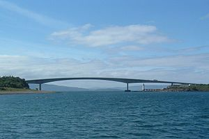 Skye Bridge - Skye Bridge from Kyle of Lochalsh