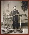 Slottsfjellsmuseet Museum Tønsberg Norway. Smed Henrik Henriksen 1834–1916 H. Henriksens Mek. Verksted Hvalfangst harpuner kanon Whaling harpoons cannon etc 2020-01-21 DSC02153.jpg