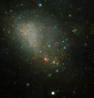 Tucana - Most of the Small Magellanic Cloud lies within Tucana.
