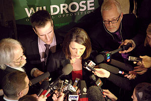Danielle Smith - Danielle Smith answers questions from the media after the release of the 2013 provincial budget.