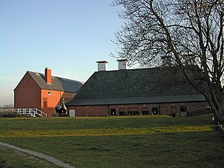 Snape Maltings arts complex in Snape, Suffolk, England; formerly a maltings