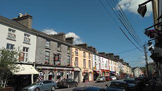 Ballinasloe Town in Connacht, Ireland