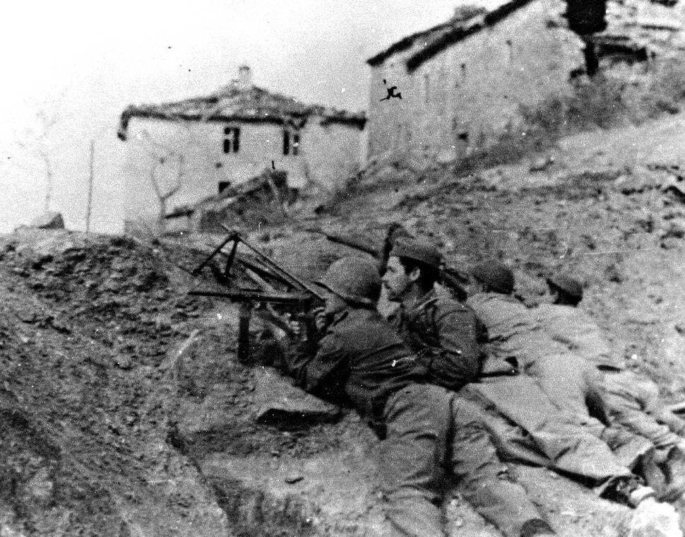 Soldati brasiliani a Montese