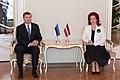 Solvita Āboltiņa tiekas ar Igaunijas premjerministru (5669394938).jpg