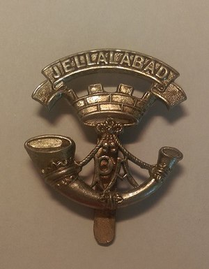 Somerset Light Infantry - Regimental cap badge of the Somerset Light Infantry.