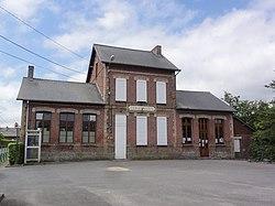 Sommeron (Aisne) mairie-école.JPG