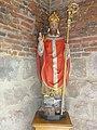Sorbais (Aisne) église Saint-Martin, statue Saint Eloi.JPG