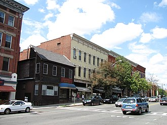 National Register of Historic Places listings in Hampshire County, Massachusetts - Image: South Pleasant Street, Amherst MA