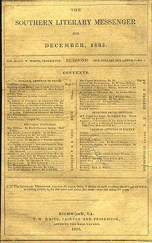 Southern Literary Messenger (source: Wikipedia)