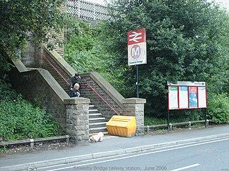 Sowerby Bridge railway station - Image: Sowerby Bridge stn 2
