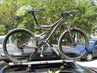 Bicycle carrier - Image: Specialized s works enduro